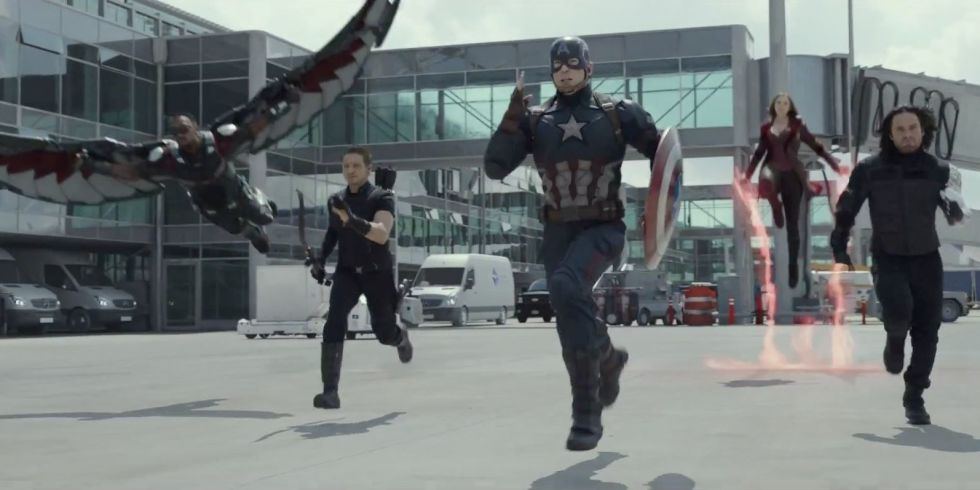 'Captain America: Civil War', Marvel