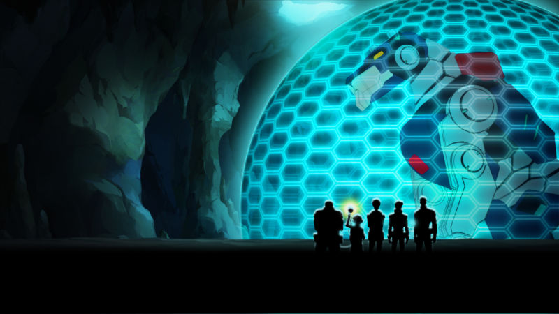 Voltron: Legendary Defender, Netflix