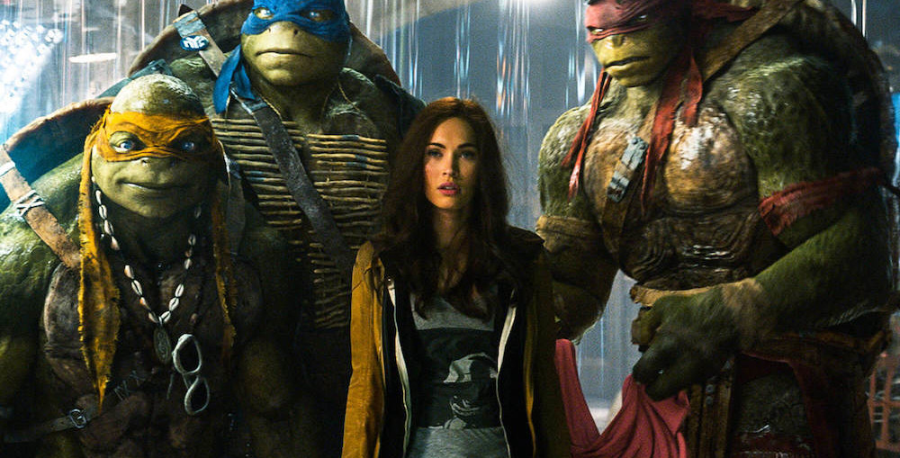 Teenage Mutant Ninja Turtles: Out of the Shadows, Nickelodeon Movies