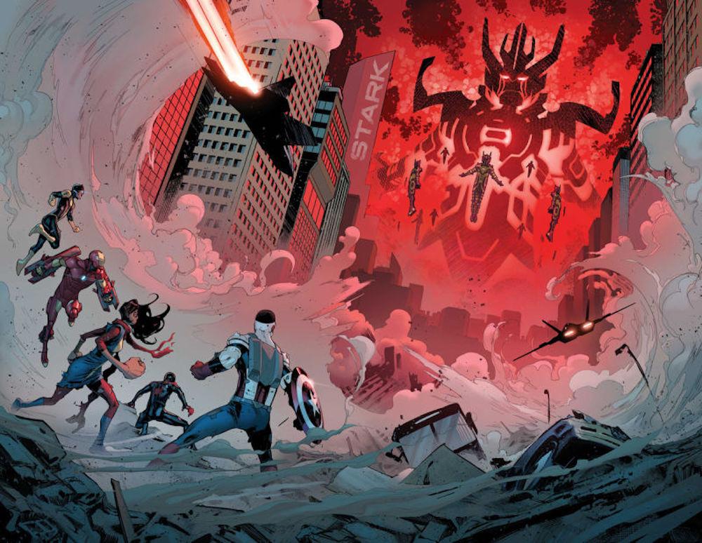 Civil War II, Marvel