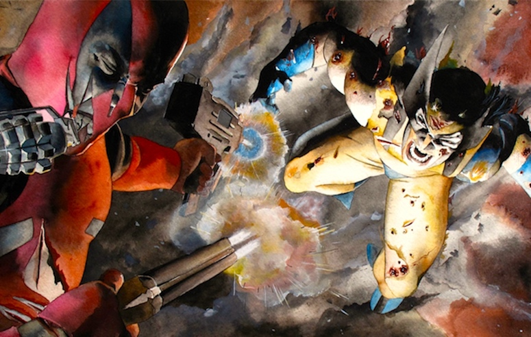Deadpool v Wolverine, Marvel